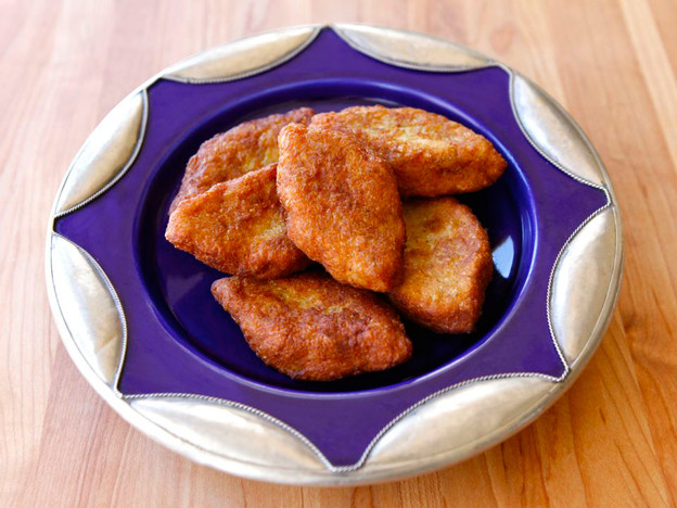 Gil Marks' Keftes de Prassa Recipe | Yummly