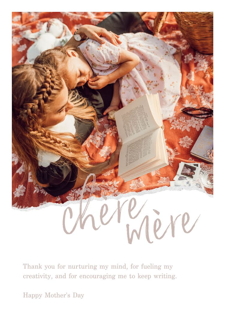 Chere Mere - Mother's Day Card Template