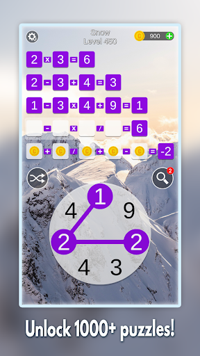 Mathscapes: Best Math Puzzle, Number Problems Game android2mod screenshots 4