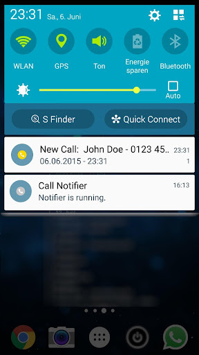 Call Notifier for CallClerk