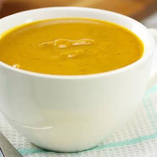 Smokey Pumpkin Soup.
