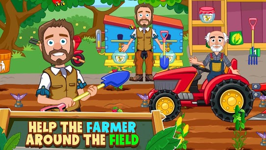 My Town: Farm Life Animals Game MOD APK [All Unlocked] 5