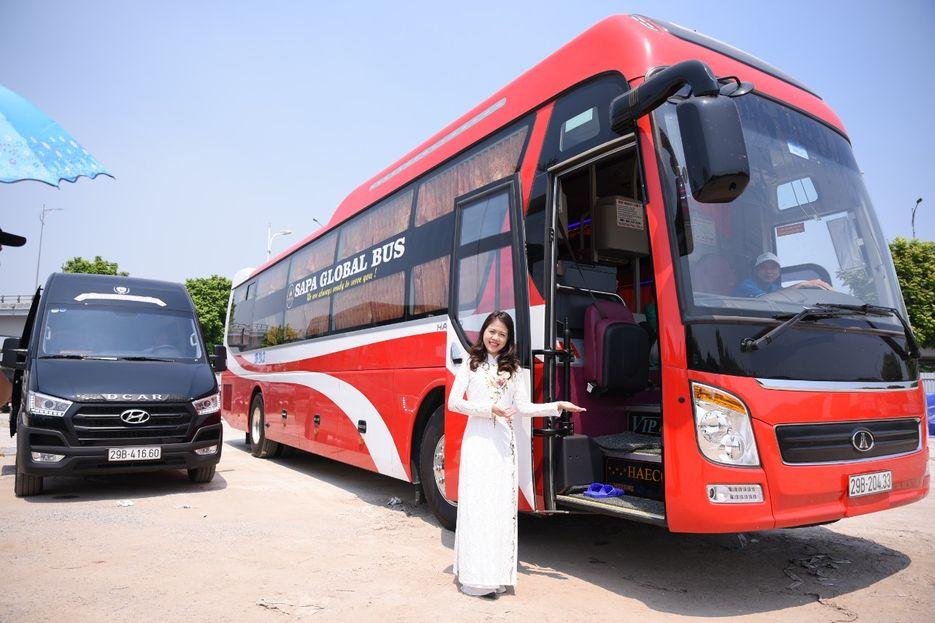 Xe Indochina Queen Travel từ Hà Nội đi Sapa