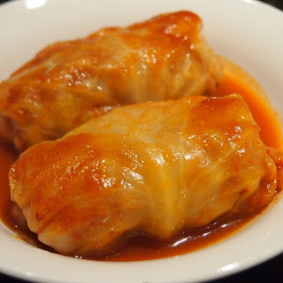 Slow Cooker Potato-Stuffed Cabbage