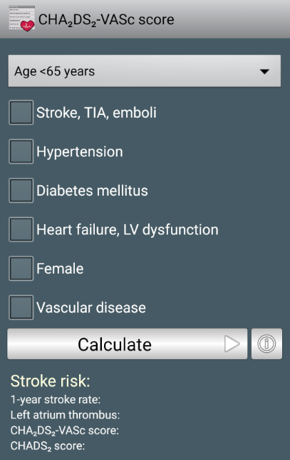 CardioExpert II- screenshot