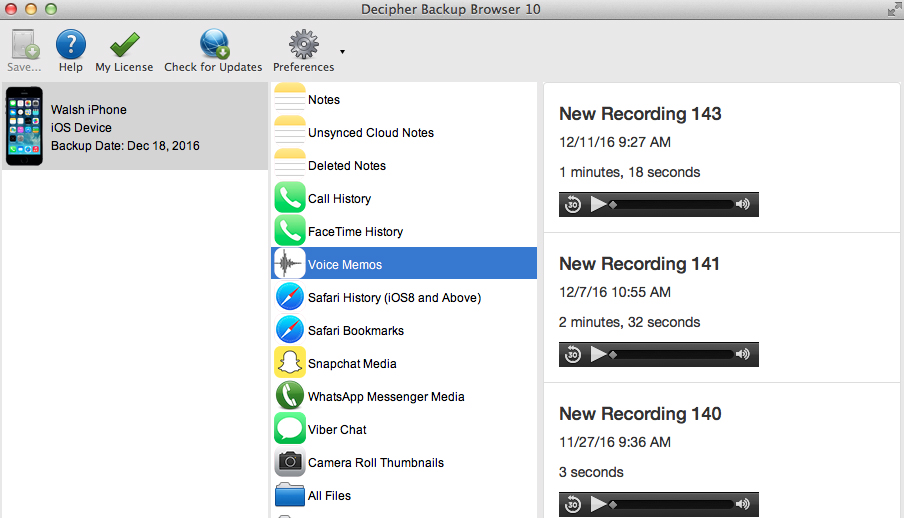 transfer-iphone-voice-memos-computer-decipher-backup-browser