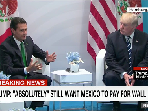 Will Mexico pay for the wall? Trump says 'Absolutely'