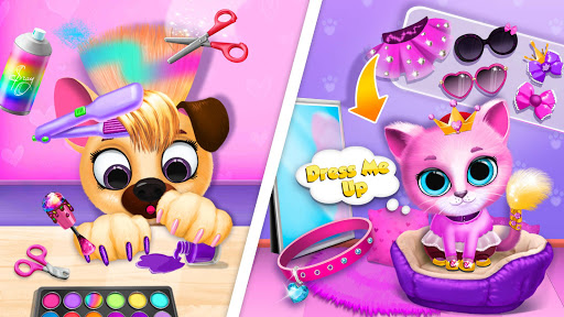 Kiki & Fifi Pet Beauty Salon - Haircut & Makeup apkpoly screenshots 7