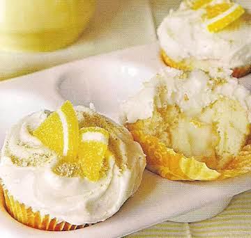 lemon ice box cupcakes