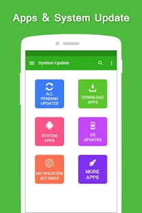 System Update Software - náhled