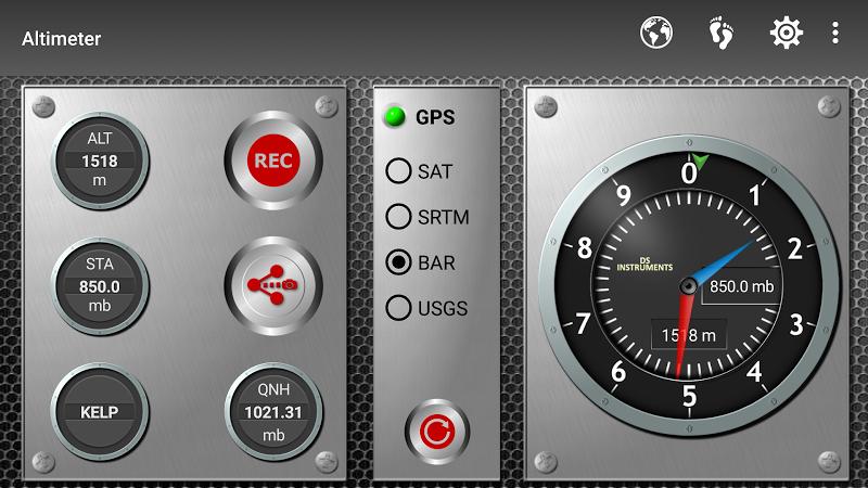 DS Altimeter Screenshot 1