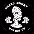 Bored Mummy Waking Up logo