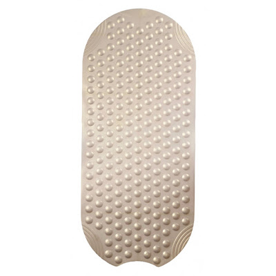 Коврик для ванной комнаты Ridder Tecno ice перламутр 89x38 см
