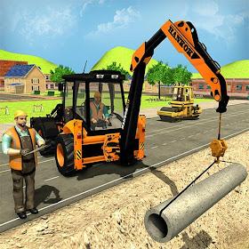 симулятор экскаватора дорожного строителя
