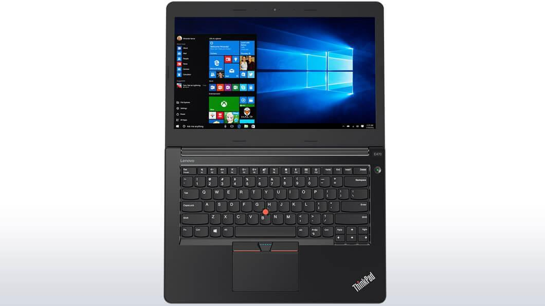 Фото2  Ноутбук ThinkPad E470 (20H1006JRT)