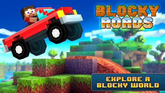 Blocky Roads v1.2.5 (Mod Money/Unlocked)