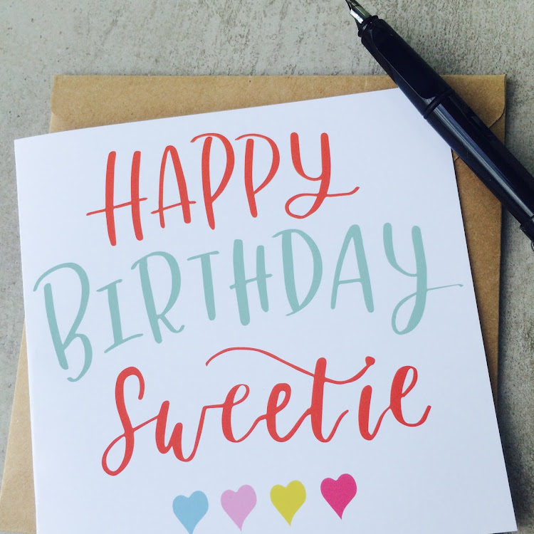 Happy Birthday Sweetie by Emma5