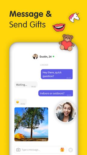 Gaze Video Chat App-Random Live Chat & Meet People screenshot 4