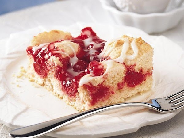Cherry Swirl Coffee Cake Recipe
