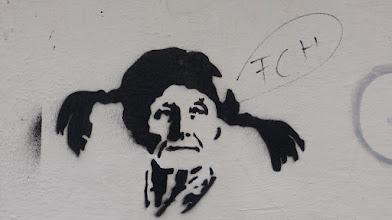 Photo: Stencil; Unknown Artist; Pippi Lindgren