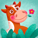Critters - Puzzle Baby Games for Kids with Animals icon