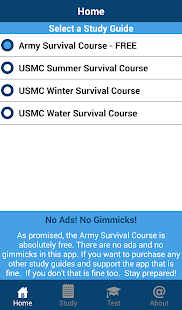 Army Survival Study Guide- screenshot thumbnail