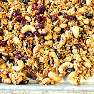Healty Coconut Oil Granola