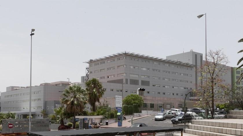 Hospital de La Candelaria en Santa Cruz de Tenerife.