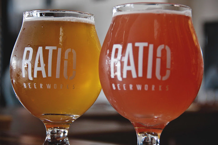 IPAs at Ratio Beerworks.
