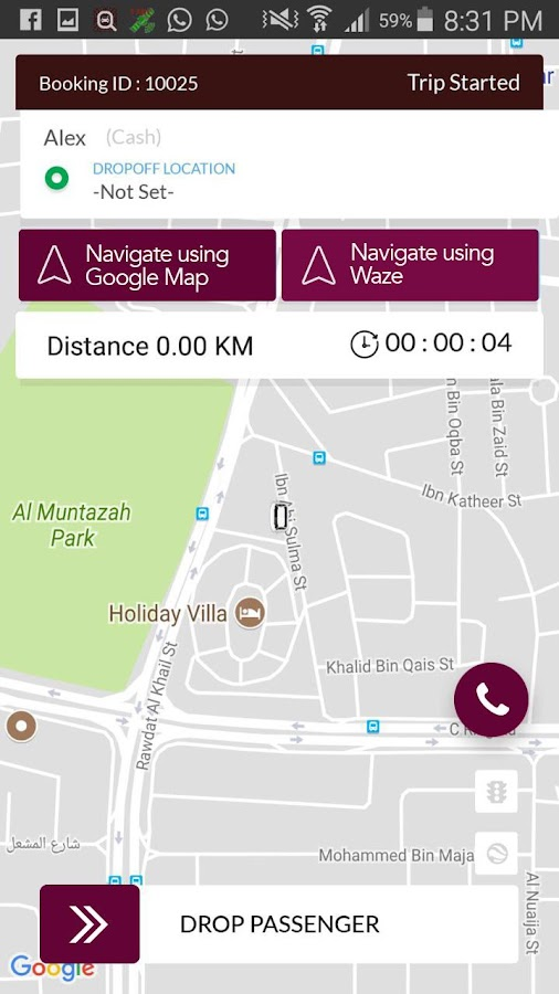 QatarTaxi Partner- screenshot