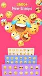 screenshot of Facemoji Emoji Keyboard:GIF, Emoji, Keyboard Theme