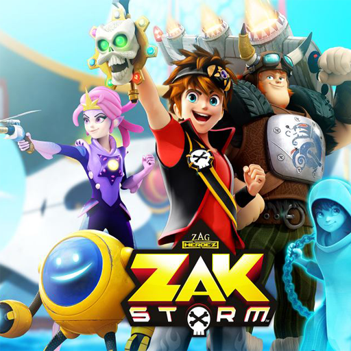 Zak Storm Run Super Pirat Adventure World