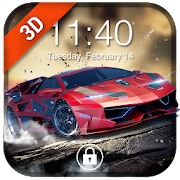 Car Parallax Locker&Live lock screen for Free