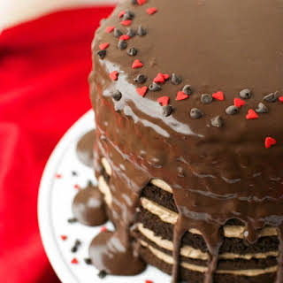 Mile High Chocolate Mousse Cake.