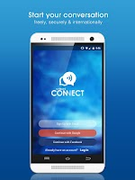Screenshot of CONNECT-Secure Messaging Beta