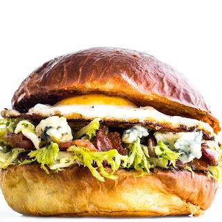 Bacon and Egg Lyonnaise Sandwich