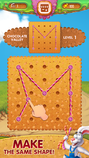 Toffee : Line Puzzle Game. Free Rope Shapes Game 1.3.240720 screenshots 1