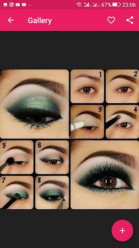 Step By Step Eyes Makeup Tutorial 2.3.09 screenshots 1