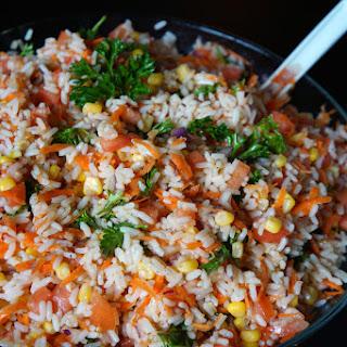 Moroccan Rice Salad.
