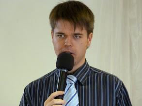 Photo: 2012. szeptember 23-án Weller Barnabás beszélt Isten fegyverzetéről.