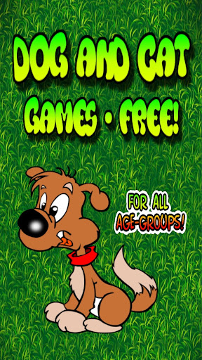 Dog Cat Games - FREE