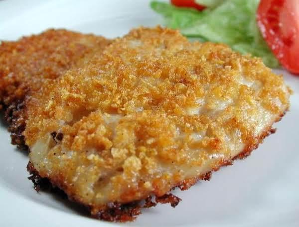 Oven Crusty Fish Recipe