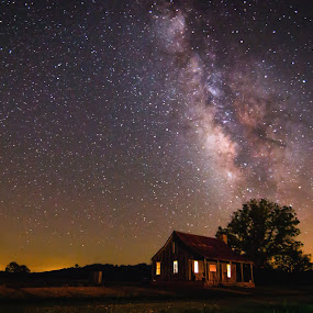 The Stars at night... by Craig Curlee - Landscapes Starscapes ( landacapes, sky, stars, texas, starscape, nightscapes, milky way )