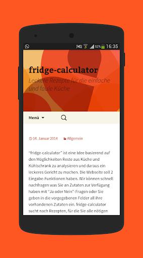 fridge-calculator Idee