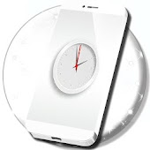 White Clock Live Wallpaper