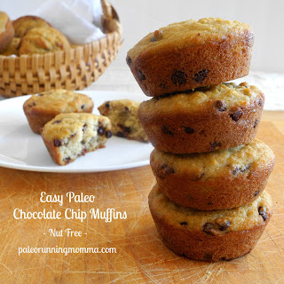 Easy Chocolate Chips Muffins - Grain, Dairy, and Nut Free