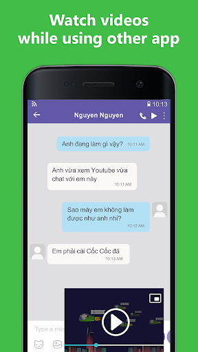 Cốc Cốc Browser screenshot 4
