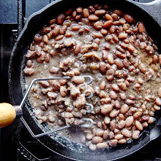 Schmaltz-Refried Pinto Beans.