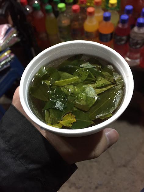 オリャンタイタンボ お茶