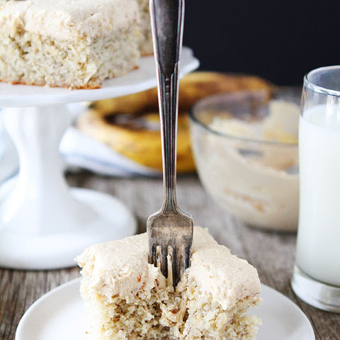 Banana Cake With Peanut Butter Frosting Recipes   Yummly